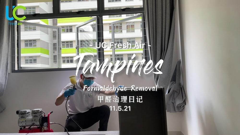 Indoor Air treatment @Tampines 11/05/2021